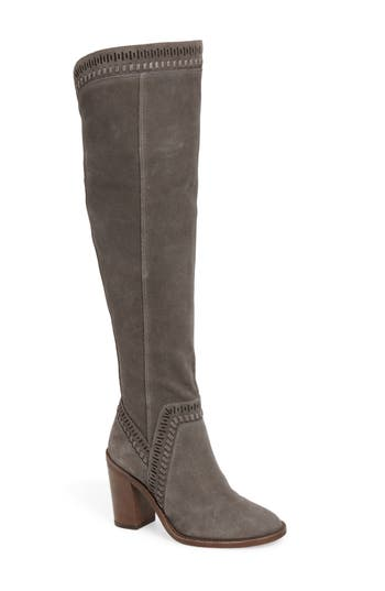 Vince Camuto Madolee Over The Knee Boot, Grey