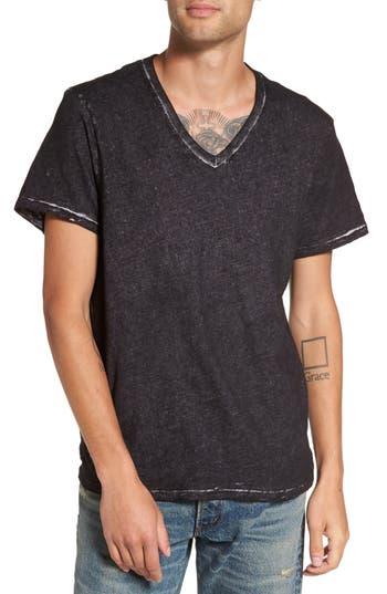True Religion Brand Jeans V-Neck T-Shirt, Black