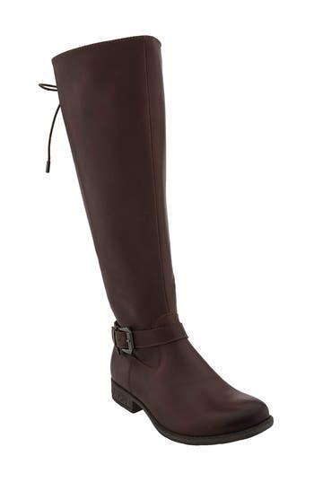 Earth Raleigh Tall Waterproof Boot, Brown