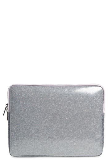 Skinnydip Sparkle 13-Inch Laptop Case - Metallic