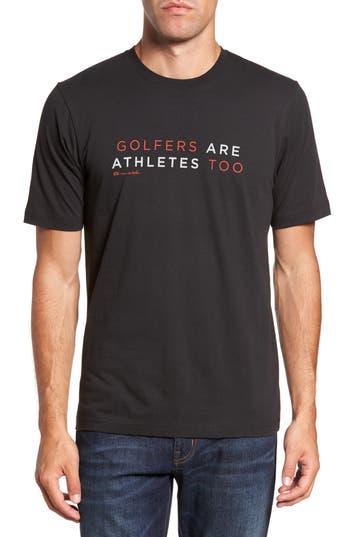 Travis Mathew Ted Graphic T-Shirt, Black