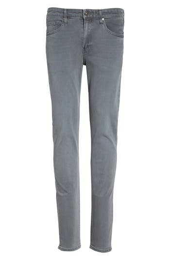 Paige Transcend - Lennox Slim Fit Jeans, Grey