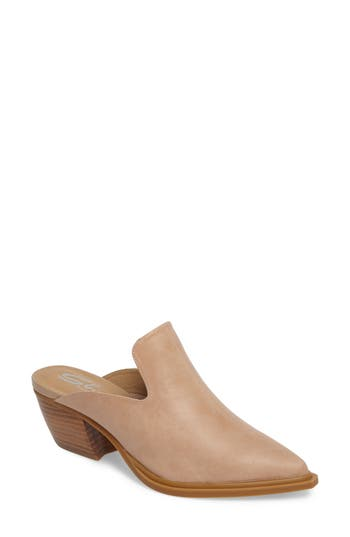 Sbicca Mulah Pointy Toe Mule, Beige