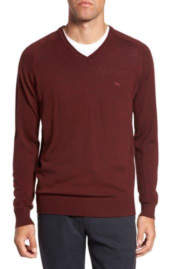 Rodd & Gunn Burfield Wool Sweater, Burgundy
