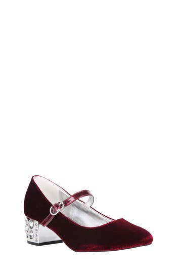 Girl's Nina Darlene Embellished Mary Jane Pump