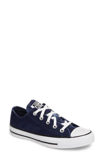 Converse Chuck Taylor All Star Seasonal Ox Low Top Sneaker, Blue