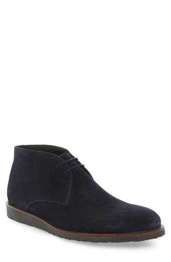 To Boot New York Franklin Chukka Boot- Blue