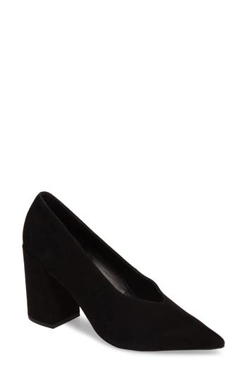 Topshop Greatal Pointy Toe Pump - Black