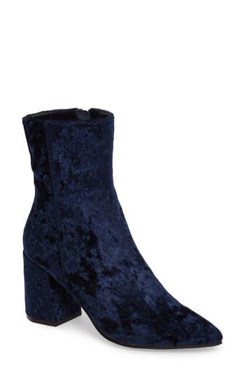 Linea Paolo Bobby Pointy Toe Boot, Blue
