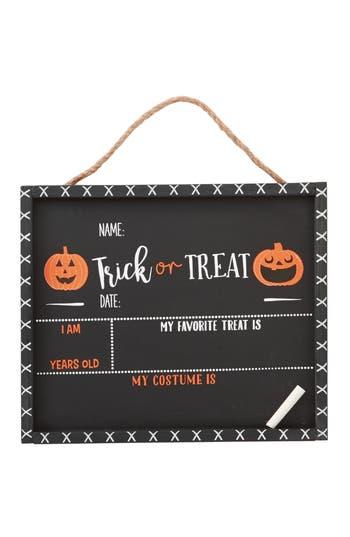 Infant Mud Pie Halloween Chalkboard Sign