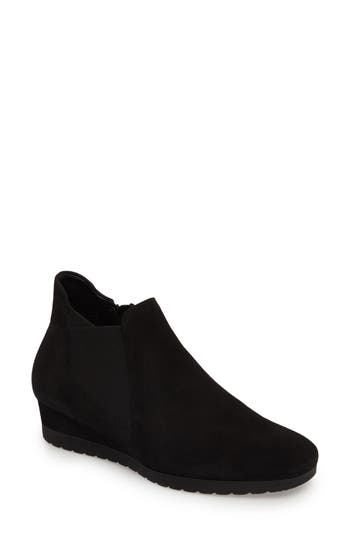Gabor Wedge Bootie, Black