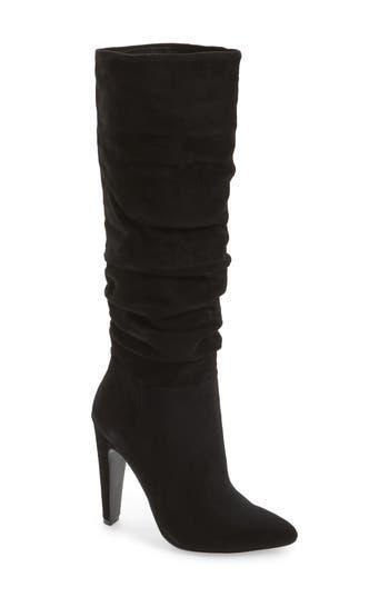 Steve Madden Carrie Slouchy Boot- Black