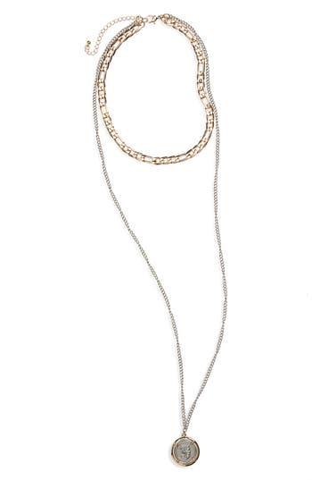 Women's Bp. Layered Pendant Necklace