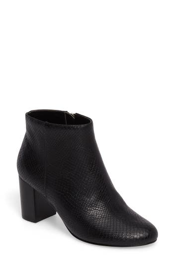 Bella Vita Klaudia Ii Block Heel Bootie N - Black
