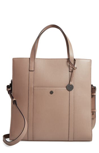 Lodis Business Chic Nikita Rfid-Protected Leather Tote - Brown