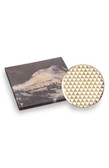 Rosanna Porcelain Platter, Size One Size - Metallic