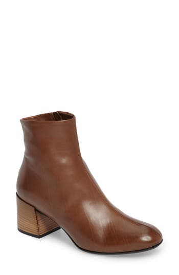 Alberto Fermani Aniella Degrade Heel Bootie- Brown