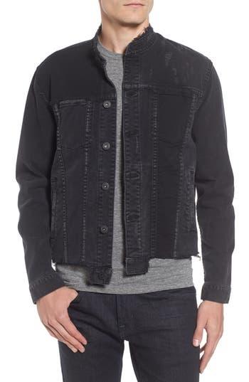 Hudson Jeans Blaine Denim Jacket, Grey