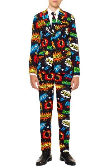 Boys Oppo Badaboom TwoPiece Suit With Tie