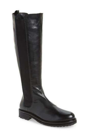 Alberto Fermani Miretta Knee High Boot- Black