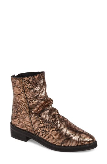 Free People Amarone Slightly Slouchy Bootie, Brown