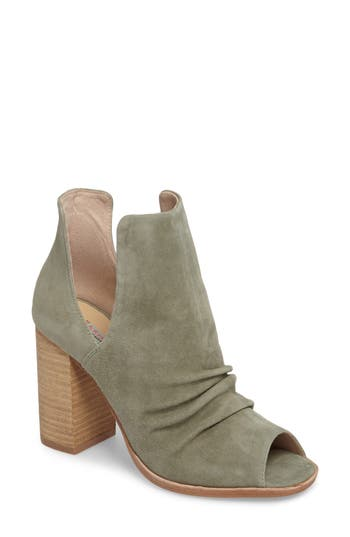 Kristin Cavallari Lash Split Shaft Bootie, Green