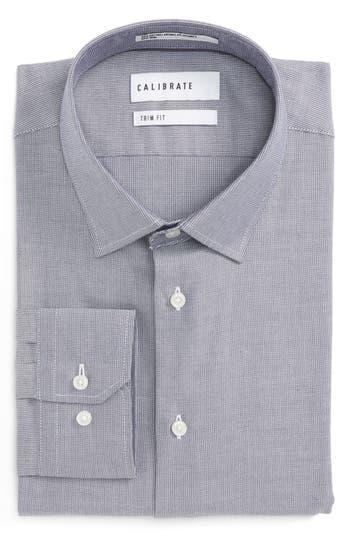 Men's Big & Tall Calibrate Trim Fit No-Iron Stretch Cotton Dress Shirt