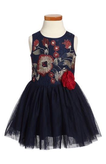 Girl's Pippa & Julie Embroidered Tutu Dress