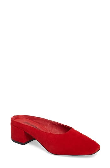 Jeffrey Campbell Oceane Mule- Red