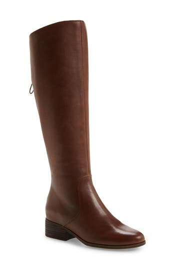 Lucky Brand Lanesha Over The Knee Boot, Wide Calf- Brown