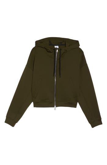 Nike Essential Cropped Hoodie, Green