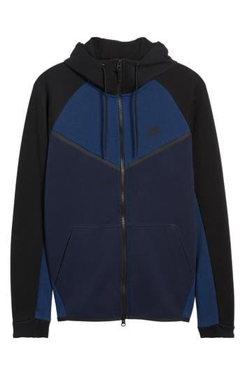 Nike Tech Fleece Hooded Jacket, Blue