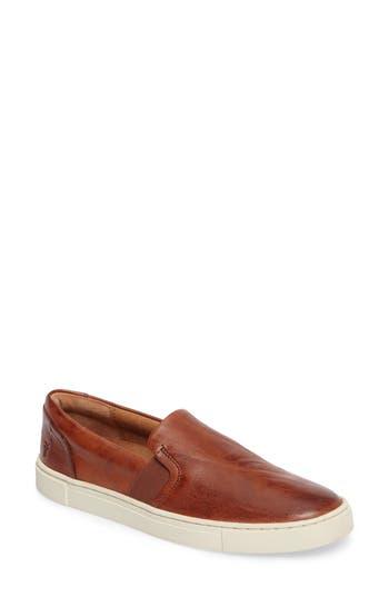 Frye Ivy Slip-On Sneaker, Brown