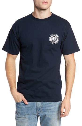 Brixton Rival Ii Graphic T-Shirt, Blue