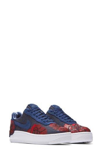 Nike Air Force 1 Upstep Lx Shoe, Blue