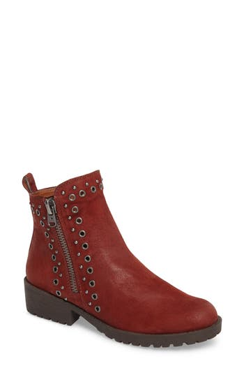 Lucky Brand Hannie Embellished Bootie- Brown