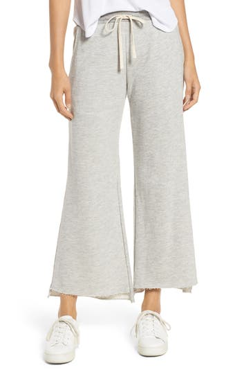Sundry Crop Flare Sweatpants