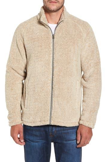 Nordstrom Shop Polar Fleece Jacket, Brown