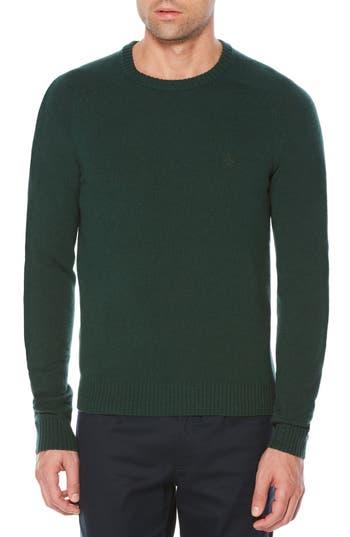 Original Penguin P55 Lambswool Sweater, Green