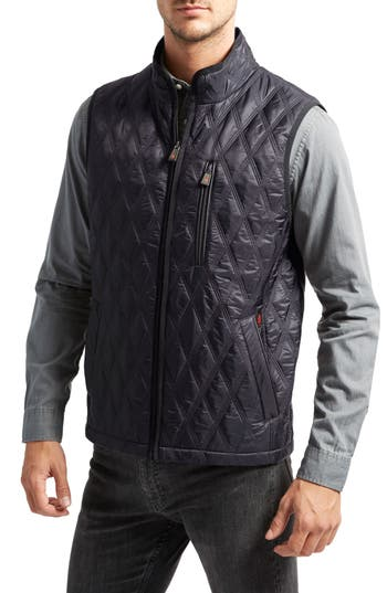 Thermoluxe Huntsville Triple Stitch Quilted Heat System Vest, Blue