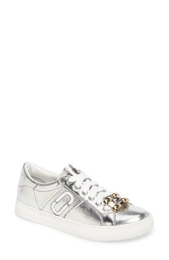 Marc Jacobs Empire Chain Link Sneaker, Grey