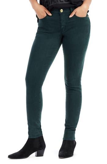 True Religion Brand Jeans Jennie Curvy Skinny Jeans, Green