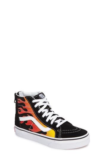 Boys Vans Sk8Hi Sneaker Size 13 M  Black