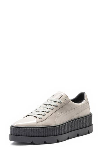 Fenty Puma By Rihanna Pointy Toe Creeper Sneaker, Grey