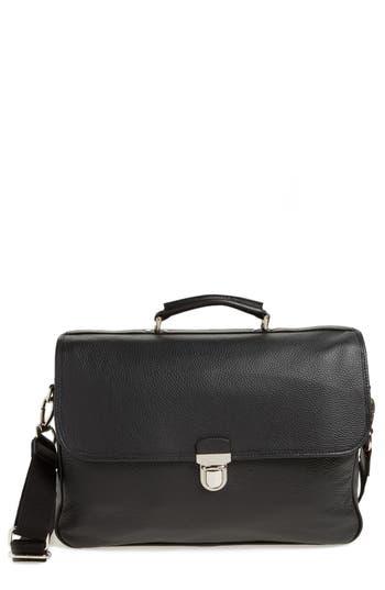 Eleventy Convertible Briefcase - Black