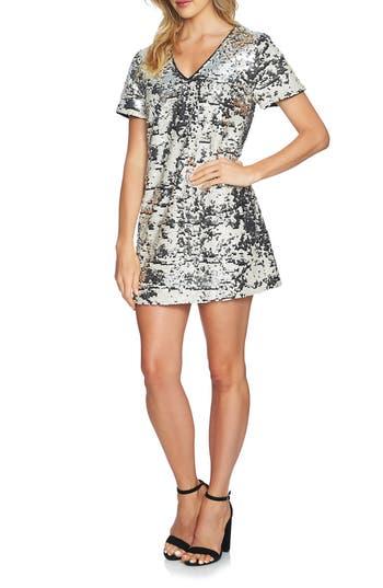 1.state Sequin Minidress, Ivory
