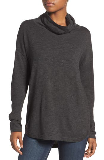 The North Face Woodland Tunic Sweater, Grey