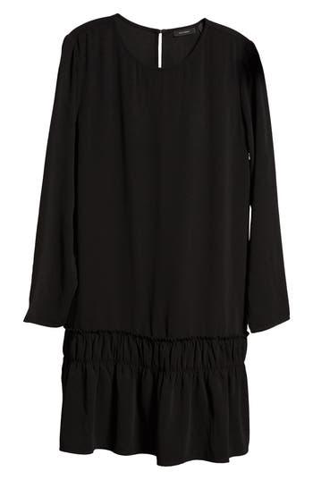 Halogen Drop Waist Dress, Black