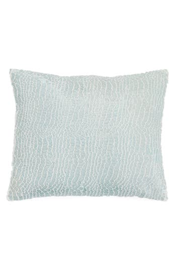 Pine Cone Hill Gloss Velvet Pillow, Size One Size - Blue