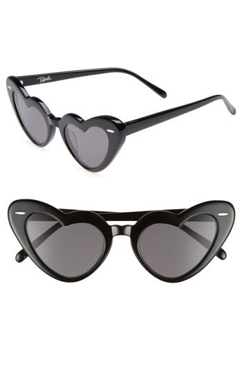 Women's Takesh J'Adore 46Mm Heart Sunglasses - Black